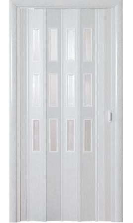 Дверь-гармошка Фаворит (Ясень серый)