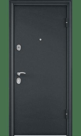 Дверь стальная DELTA 112 (Темно-синий букле/CT Alaska White)