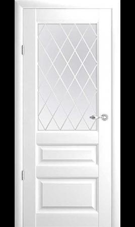 Межкомнатная дверь Эрмитаж-2 ДО (Белый)