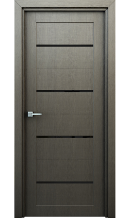 Межкомнатная дверь Орион ДО (Серый)