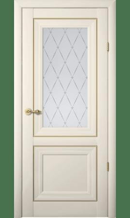 Межкомнатная дверь Прадо ДО (Ваниль)