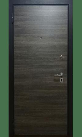 Дверь стальная М-02 Вертикаль (Венге серый/Кедр серый)