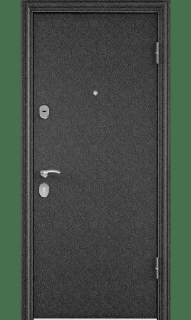 Дверь стальная DELTA 112 (Черный шелк/CT Wood Brown)