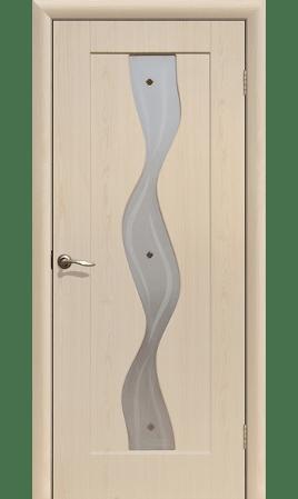 Межкомнатная дверь Вираж ДО (Беленый дуб)