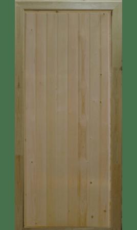 Банная дверь входная Зима