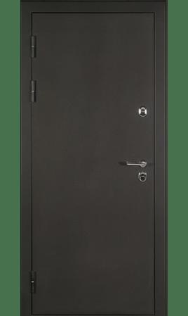 Дверь стальная Персей-ТЕРМО (Античная медь/Орех)