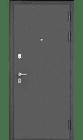 Стальная дверь MASS 90 (Букле графит/Ларче шоколад CR-4)