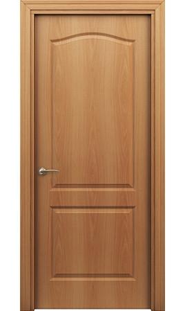 Межкомнатная дверь Палитра 11-4 (Миланский орех)