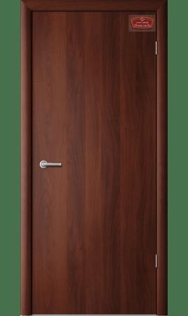 Межкомнатная дверь 1Г1 Глухая (Итальянский орех)