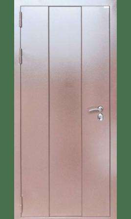 Дверь стальная Cибирь 4 (Bucle Chalet Brown/Ларче орех)