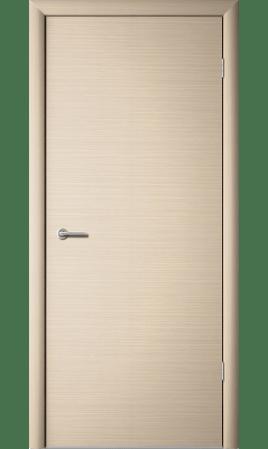 Межкомнатная дверь 1Г1 Глухая (Беленый дуб горизонтальный)