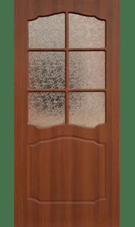 Межкомнатная дверь Лидия ДО (Итальянский орех)
