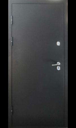 Дверь стальная Хаски 4 (Черная искра/Дуб молочный)