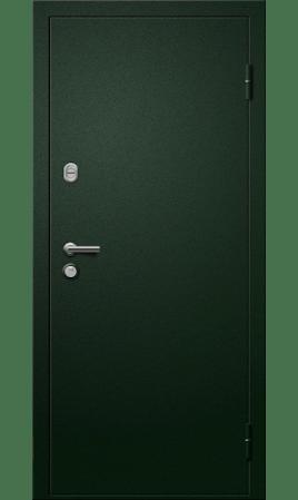 Дверь стальная Прага 20 (Черная искра/Кипарис темный)