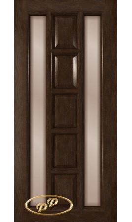 Межкомнатная дверь Вега ДО (Каштан)