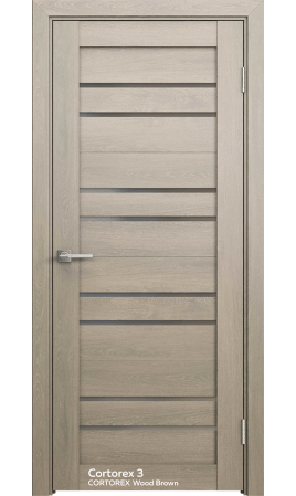 Межкомнатная дверь Comfort-3 (CT Wood Brown)