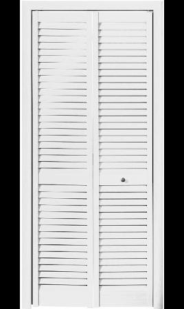 Жалюзийная дверь (Белый)
