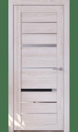 Межкомнатная дверь Cristal-1 (Ясень ривьера айс)