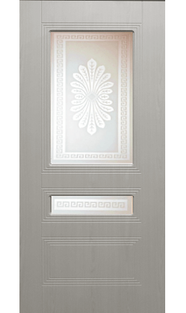 Межкомнатная дверь Фантазия ДО (Беленый дуб)