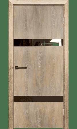 Межкомнатная дверь Silver 2 (Дуб шале натуральный)
