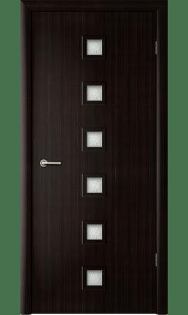 Межкомнатная дверь 4С1/Квадрат (Венге)