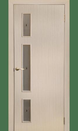 Межкомнатная дверь Вертикаль (Беленый дуб горизонтальный)