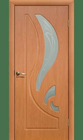 Межкомнатная дверь Лиана ДО (Миланский орех)