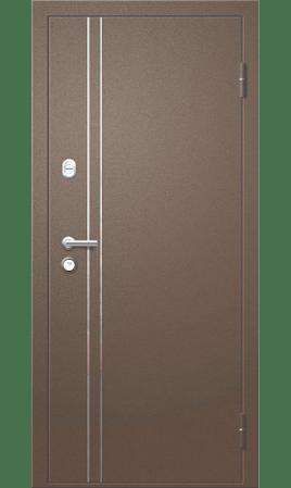 Дверь стальная Троя 22 ДН (PP200 Ferox Light/Бран)