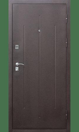 Дверь стальная Стройгост 7-2 (Античная медь/Античная медь)