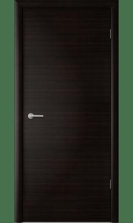 Межкомнатная дверь 1Г1 Глухая (Венге черный)