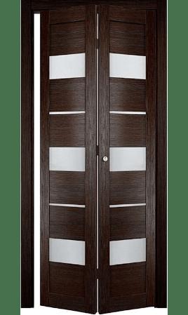 Дверь книжка Прага (Кипарис темный)