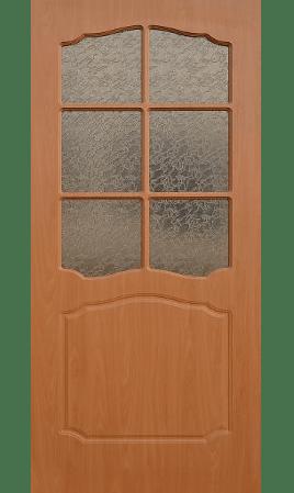 Межкомнатная дверь Лидия ДО (Миланский орех)