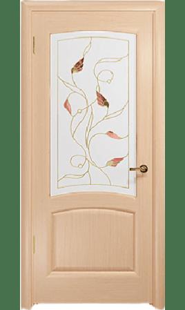 Межкомнатная дверь Ровере ДО (Беленый дуб)