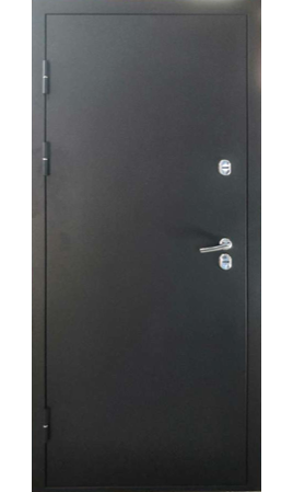 Дверь стальная Хаски 2 (Черная искра/Черная искра)