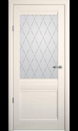 Межкомнатная дверь Рим ДО (Ваниль)