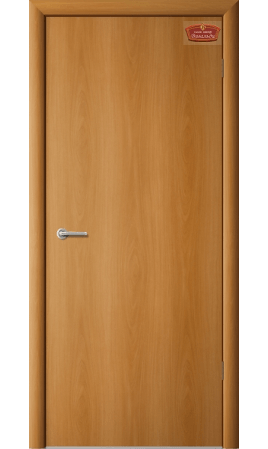 Межкомнатная дверь 1Г1 Глухая (Миланский орех)