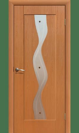 Межкомнатная дверь Вираж ДО (Миланский орех)
