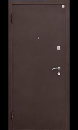 Дверь стальная Алмаз 11 Вена (Шелк черный/Лиственница мокко)