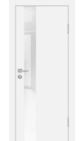 Межкомнатная дверь P-10 PP (Белоснежный)