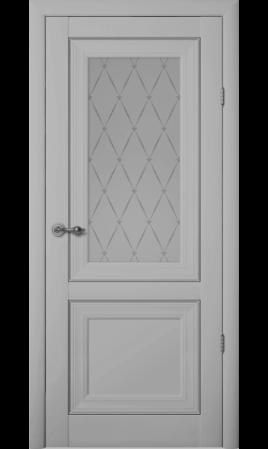 Межкомнатная дверь Прадо ДО (Серый)