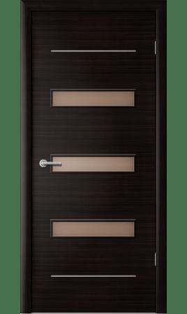 Межкомнатная дверь Капелла (Венге черный)