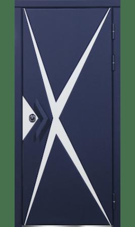 Дверь стальная Лино (Океания/Крем брюле/Крем брюле/Океания)
