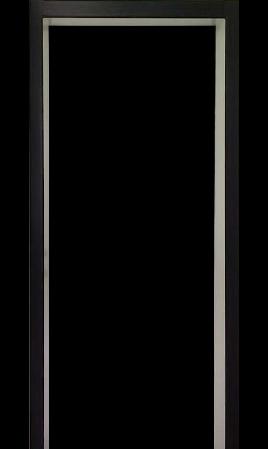 Комплект комбинированных откосов эко-шпон (Кипарис белый/Кипарис темный)