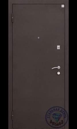 Дверь стальная Алмаз 11 Сидней (Сатин графит/Кипарис белый)