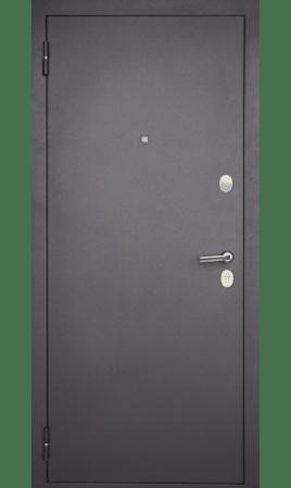 Дверь стальная М-01 Вертикаль (темная)