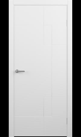 Межкомнатная дверь Бета (Белый)