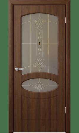 Межкомнатная дверь Венеция (Орех таволато)