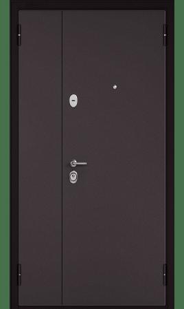 Дверь стальная Бульдорс Steel-13Д (Букле шоколад/Букле шоколад)