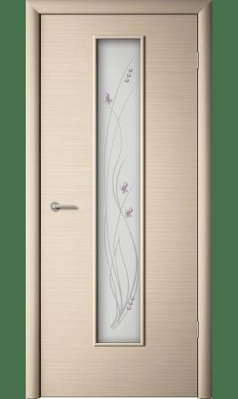 Межкомнатная дверь Роса (Беленый дуб горизонтальный)