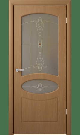 Межкомнатная дверь Венеция (Миланский орех)